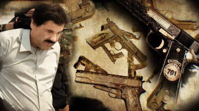 De oro y diamantes: así son las armas de los capos de la droga más poderosos