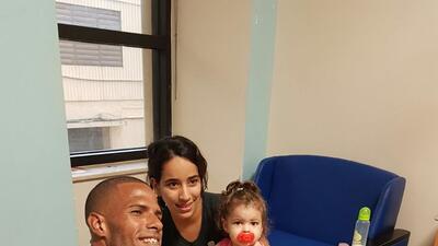Javier Culson lleva alegría a niños hospitalizados