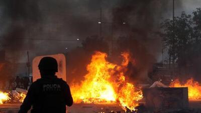Maestros mexicanos advierten que endurecerán sus protestas tras incidentes en Oaxaca