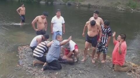 Un bautizo acaba en tragedia cuando una niña murió ahogada al ser arrastrada por la corriente