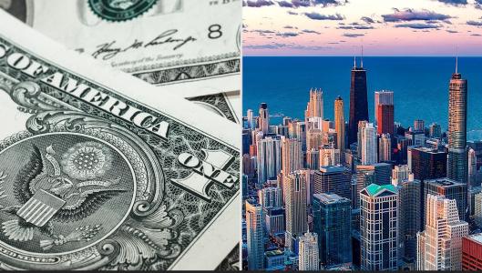 Los residentes de Illinois son los ciudadanos que más impuestos pagan de EE.UU, según estudio