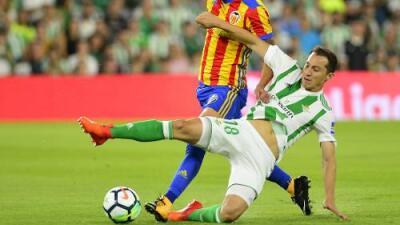 """Andrés Guardado tras su lesión: """"Si te caes diez veces, levántate once"""""""