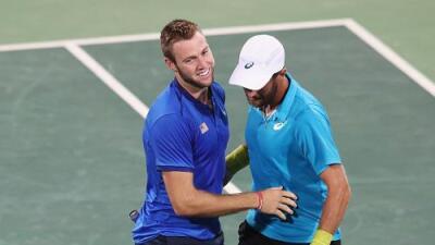 Steve Johnson y Jack Sock ganan el bronce en dobles para Estados Unidos