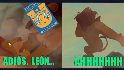 León fue menos fiera y los memes no se lo perdonaron