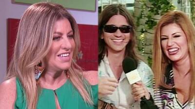 La televisión atrapó un día a Paola Gutiérrez y desde entonces no se han separado: así fue su primer encuentro