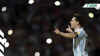 Vuelve Messi con Argentina para la fecha FIFA