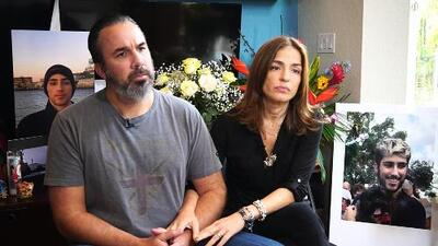 """""""Nuestro hijo era un soñador"""": los padres de Joaquín Oliver, el venezolano muerto en la masacre de Florida, hablan en exclusiva con Jorge Ramos"""
