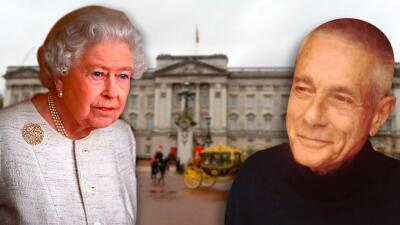 Es francés e insiste que es parte de la familia real británica gracias a un affair del tío de la reina Isabel