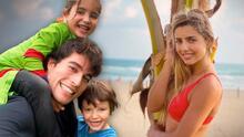 Las fotos que comprobarían que Danilo Carrera y Michelle Renaud se fueron de viaje juntos