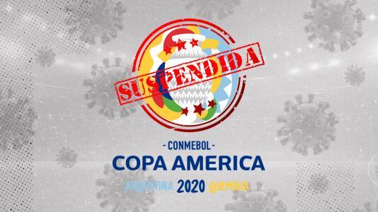 Conmebol anuncia aplazamiento de la Copa América para 2021