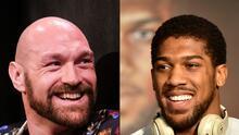 En el aire el combate entre Anthony Joshua y Tyson Fury