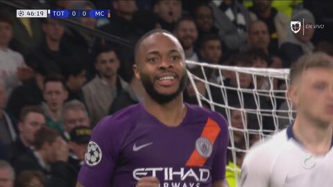Sterling exigió a un Lloris que volvió a salvar al Tottenham