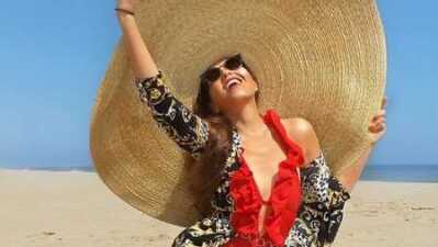 Thalía conquistó a sus fans con impresionante sombrero