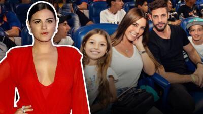 Maite Perroni reacciona a los comentarios que aseguran se parece a la hija de William Levy y Elizabeth Gutiérrez