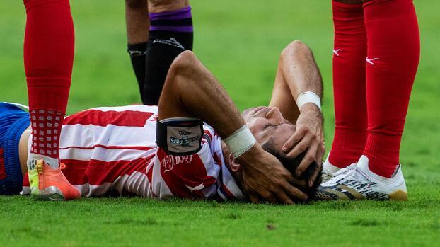 En suspenso la gravedad de la lesión de Jesús Molina; Beltrán, con secuelas del Covid-19