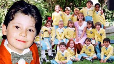 ¿Recuerdas al tierno Santiago de 'Vivan los niños'? Cambió tanto que no lo reconocerás