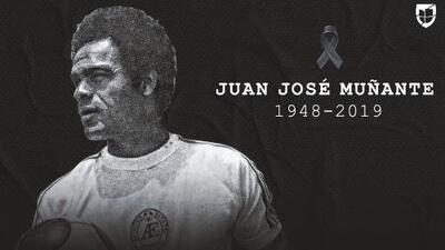 Falleció Juan José 'La Cobra' Muñante, leyenda del fútbol mexicano