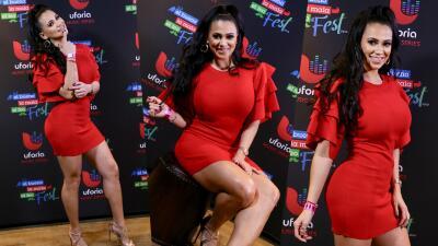 Carla Medrano: de rojo, sexy y atrevida en los últimos días de sus 20