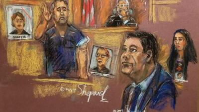 'El Chapo' se encuentra en la corte con su mejor amigo y le sonríe pese al duro testimonio