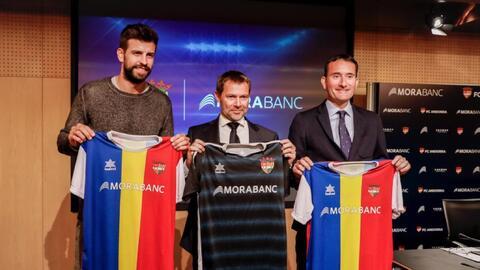"""Piqué presentó el FC Andorra y """"Messi está en el proyecto"""""""