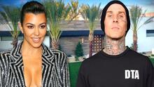 Kourtney Kardashian compra mansión en 12 millones de dólares que ya estrenó con su novio Travis Barker