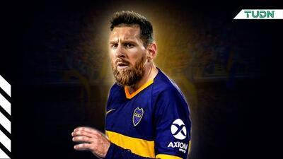 ¿Messi con la playera de Boca Juniors? Es posible