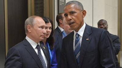 Obama y Putin intentan salvar las negociaciones para un alto el fuego en Siria