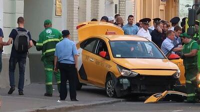 Ocho personas resultaron heridas por un atropellamiento masivo en el centro de Moscú