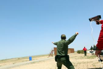 Fotos: ¿Superarías este entrenamiento para ser agente de Patrulla Fronteriza?