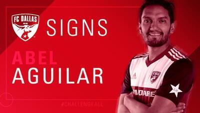 Con la llegada de Abel Aguilar el FC Dallas suma su cuota de experiencia mundialista y europea