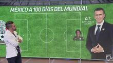 Félix Fernández armó su 11 ideal del Tri a 100 días del Mundial
