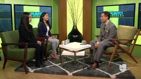 Al Punto Chicago habló con ganadora de la beca regional de Hispanic Heritage y sobre las implicaciones