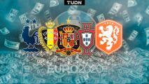 ¿Y Francia? Los favoritos de la Euro 2020 para las casas de apuestas
