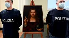 Un cuadro robado de 500 años de antigüedad es hallado en departamento de Nápoles