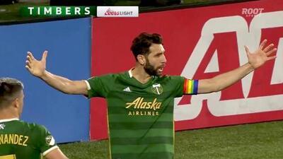 Diego Valeri perfora las redes con un excelso cobro de tiro penal, Portland 2-0 Houston