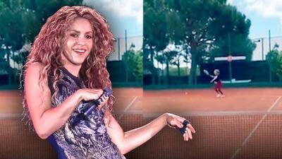 """Shakira retorna """"un poco tiesa"""" a las canchas que abandonó hace dos años"""