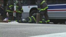 Una mujer termina debajo de un autobús de la CTA al ser arrollada en el centro de Chicago