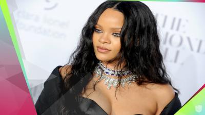 De negro y con espectaculares diamantes: así vimos reaparecer a Rihanna
