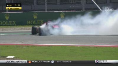 ¡Accidente entre Vettel y Ricciardo que puede ser mortal para el alemán!