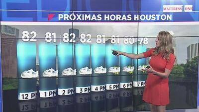 Una noche cálida, nublada y con una que otra llovizna vivirá Houston este lunes