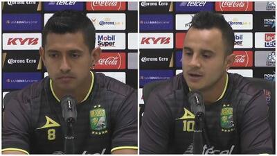 Elías Hernández y Luis Montes se mostraron emocionados tras su convocatoria al Tri
