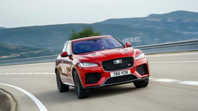 Esta es la Jaguar F-Pace SVR 2020