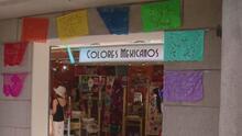 'Colores mexicanos', el negocio de artesanías que logró llegar al famoso Chicago Riverwalk