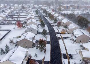 """Nevadas desde Texas hasta los Grandes Lagos: el centro de EEUU espera """"fríos históricos"""" por tormentas de otoño (fotos)"""