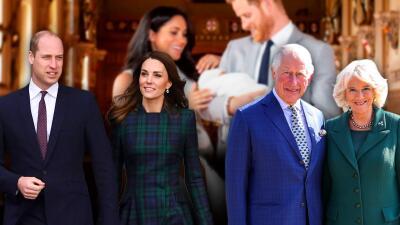 William, Kate, Carlos y Camilla todavía no conocen a primer hijo de Harry y Meghan por culpa del trabajo