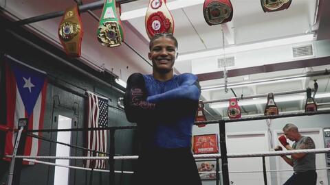Latinos que Triunfan: Xander Zayas, la nueva promesa del boxeo de Puerto Rico