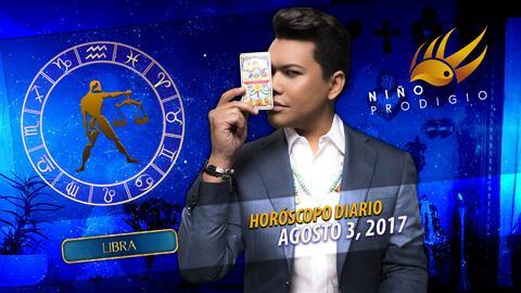 Niño Prodigio - Libra 3 de agosto 2017
