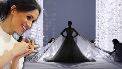 Si todo sigue igual, así de espectacular será el vestido de novia de Meghan (al mejor estilo Ralph & Russo)