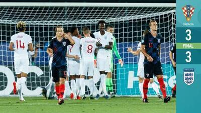 ¡Listas las Semis! Inglaterra empata con Croacia, pero ambas quedan fuera de la Euro Sub-21