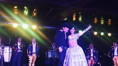 Julián Figueroa y Maribel Guardia de gira musical con gran éxito